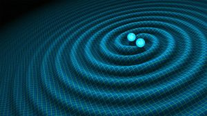 epa05154649 A undated handout graphic, made available 11 February 2016 by NASA /  CALTECH-JPL, showing an artist's impression of gravitational waves generated by binary neutron stars. US researchers said 11 February 2016 they have detected gravitational waves, which physicist Albert Einstein first described 100 years ago as 'ripples in the fabric of space-time.' Scientists from Caltech and the Massachusetts Institute of Technology (MIT) made the announcement in Washington and other locations around the world. There were immediate suggestions that the discovery could well win them the Nobel Prize in Physics. The signal detected with LIGO, an observatory with sites on both sides of the United States, was very clear and there was no room for doubt that it was direct evidence of the waves, said Bruce Allen, who is acting director at Germany's Max Planck Institute for Gravitational Physics. He said two scientists with his group in the northern German city of Hanover were the first to notice the effect. The announcement may confirm Albert Einstein's last unproven theory, dating from 1916.  EPA/R. HURT / CALTECH-JPL / HANDOUT  HANDOUT EDITORIAL USE ONLY