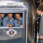 DA ASITV: Luna andata e ritorno. Il rientro dell'Apollo 11
