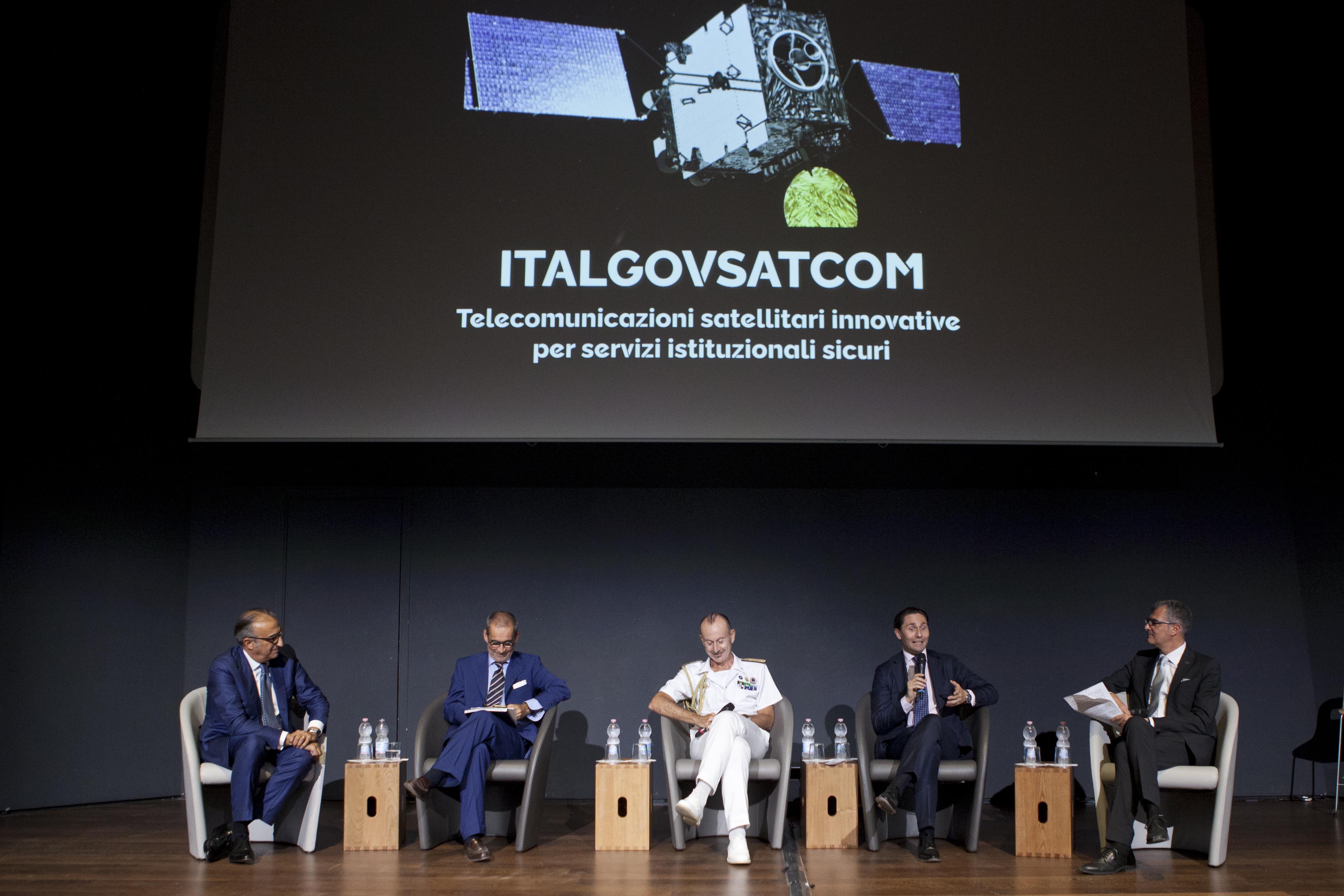 ASI - Space Economy, al via la prima fase di Ital-GovSatCom