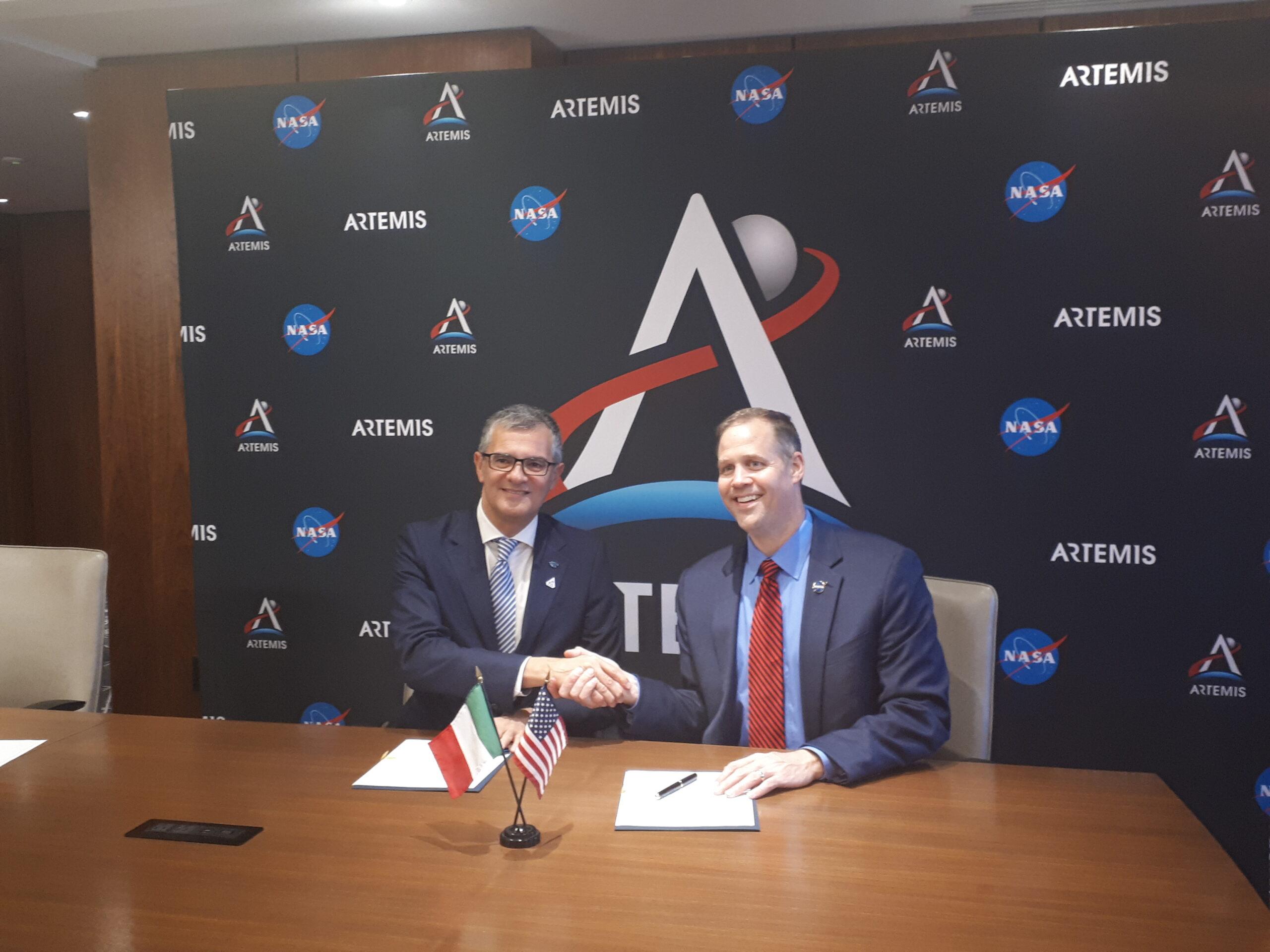 ASI - Artemis: accordo NASA- ASI