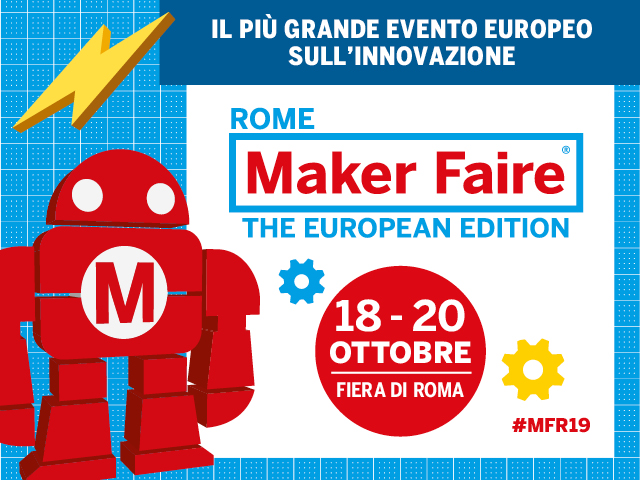 ASI - L'ASI al Maker Faire 2019