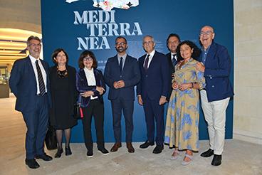 """Il ministro Fioramonti visita """"Mediterranea"""""""