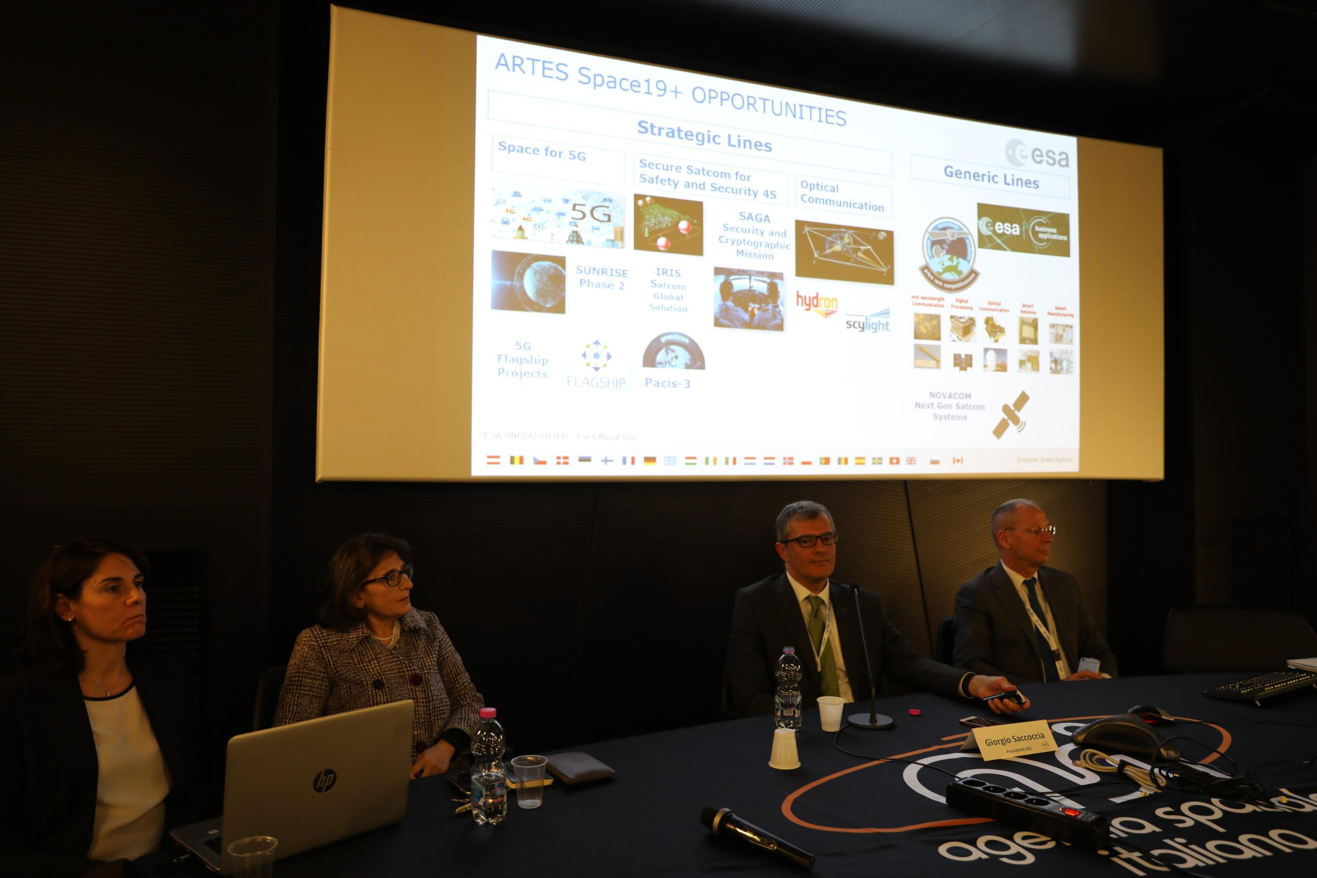 ASI - Tappe di avvicinamento verso il Consiglio Ministeriale dell'ESA