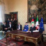 Parmitano a colloquio con Mattarella