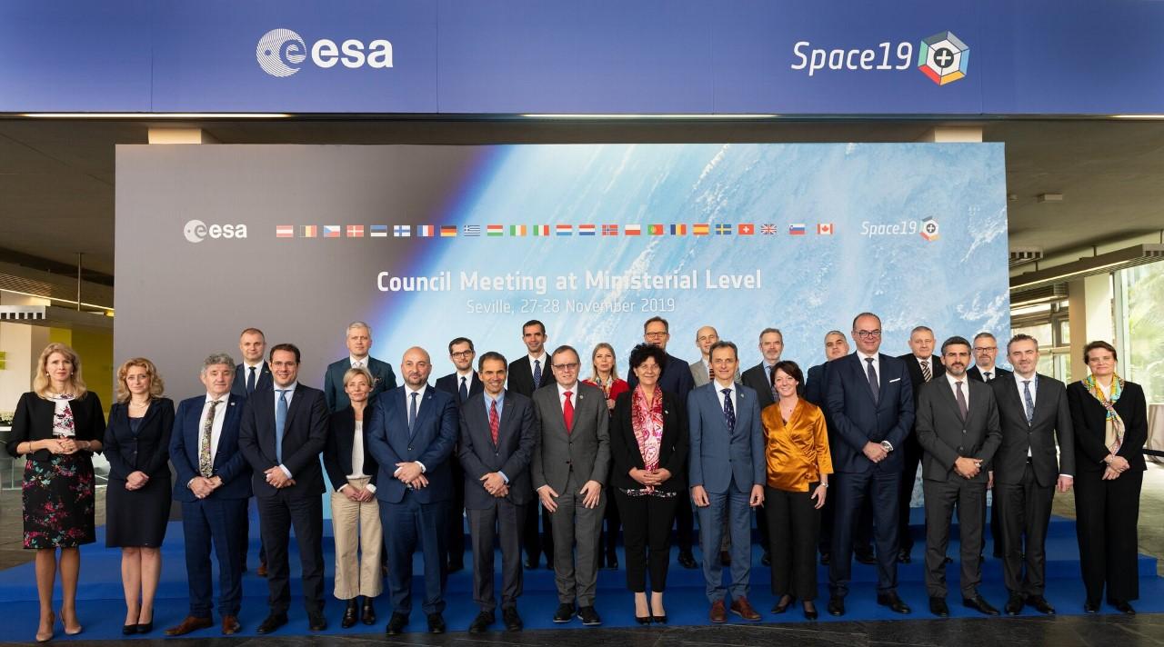 ASI - Consiglio ministeriale dell'ESA: il futuro dei programmi spaziali europei