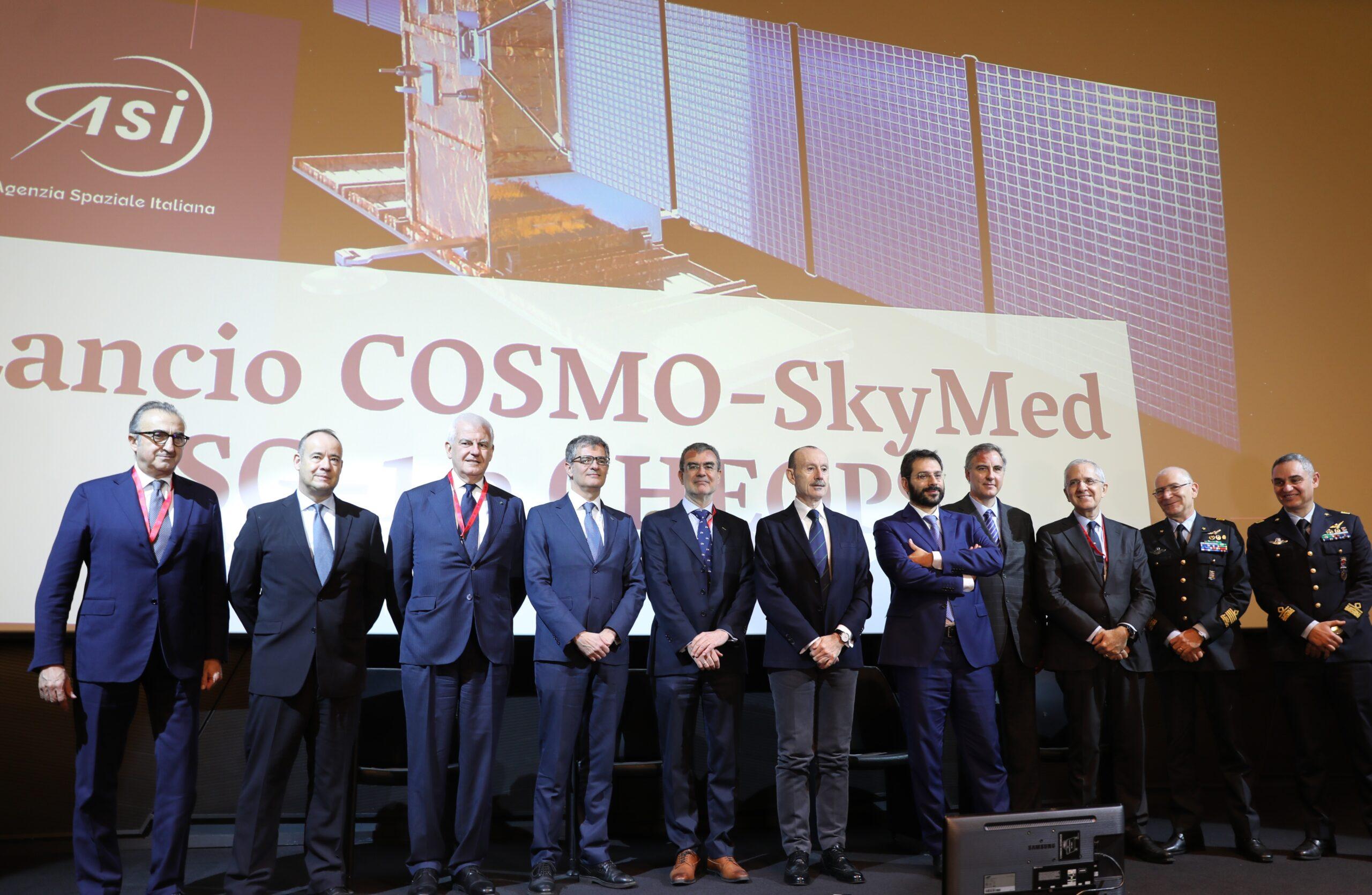 ASI - LIVE:  Lancio COSMO-SkyMed SG-1 e CHEOPS –   tra le 20:30 e le 22 nuova comunicazione sulla finestra di lancio