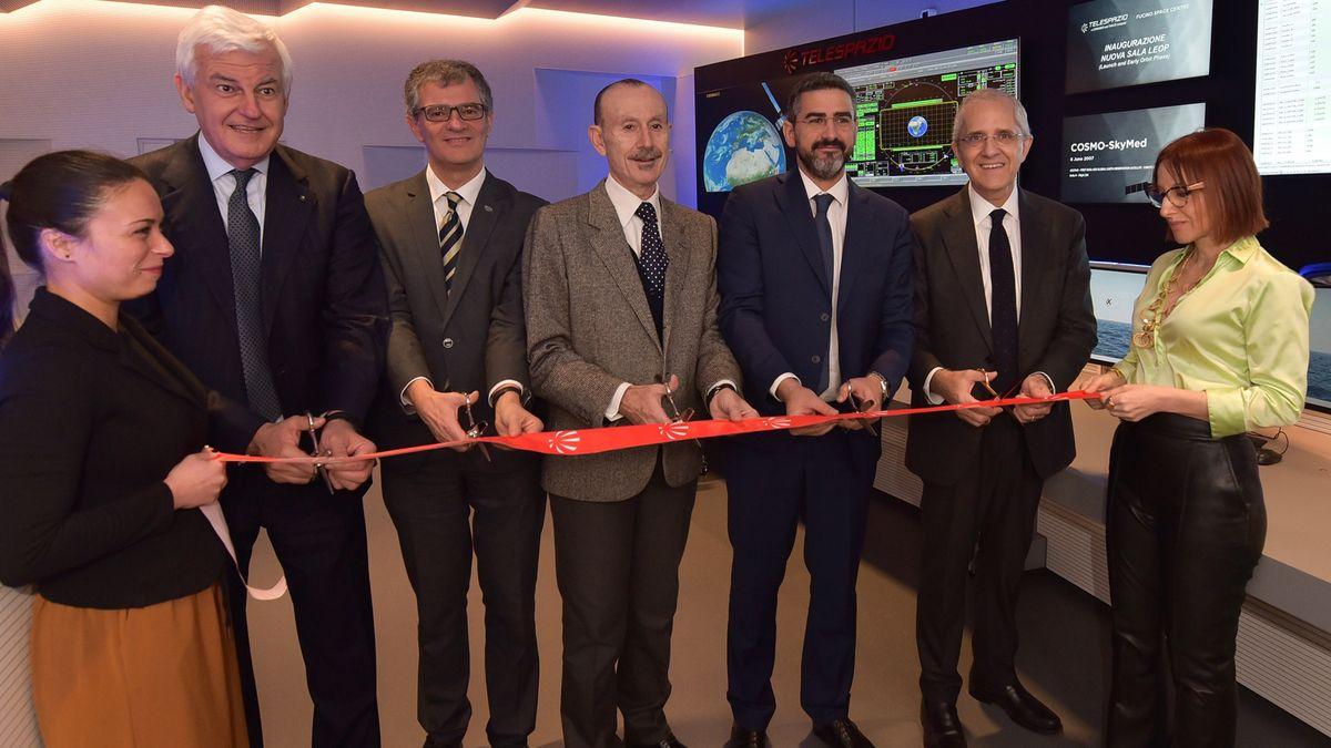 ASI - Inaugurata al Fucino nuova sala di controllo