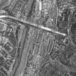 Il ponte di Genova visto dallo spazio