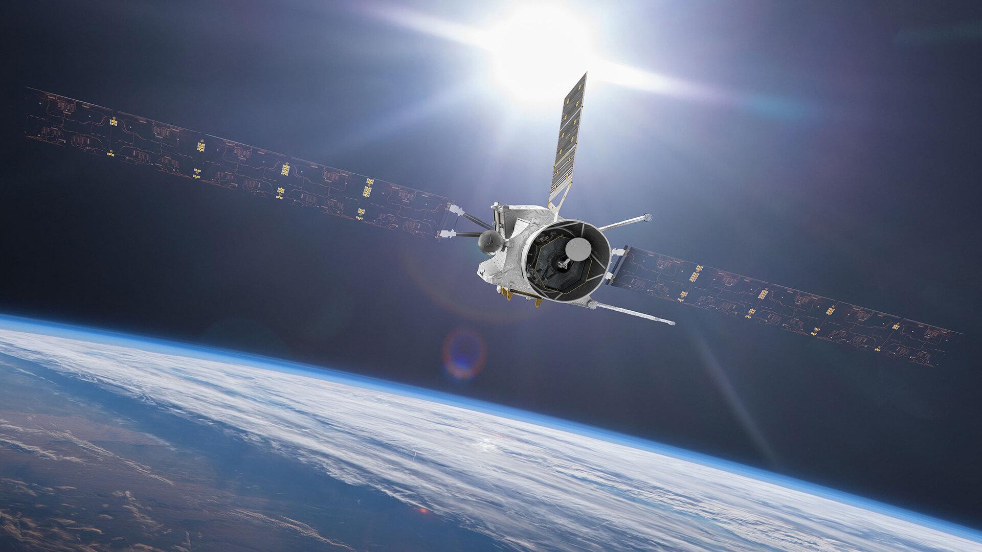 ASI - BepiColombo saluta la Terra: primo flyby planetario