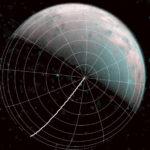 Lo sguardo di JIRAM sopra il polo nord di Ganimede