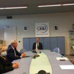 Visita del Capo del Dipartimento della Protezione Civile Angelo Borrelli in ASI