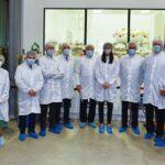Fraccaro, Saccoccia e Profumo salutano ExoMars ai laboratori di Thales Alenia Space a Torino
