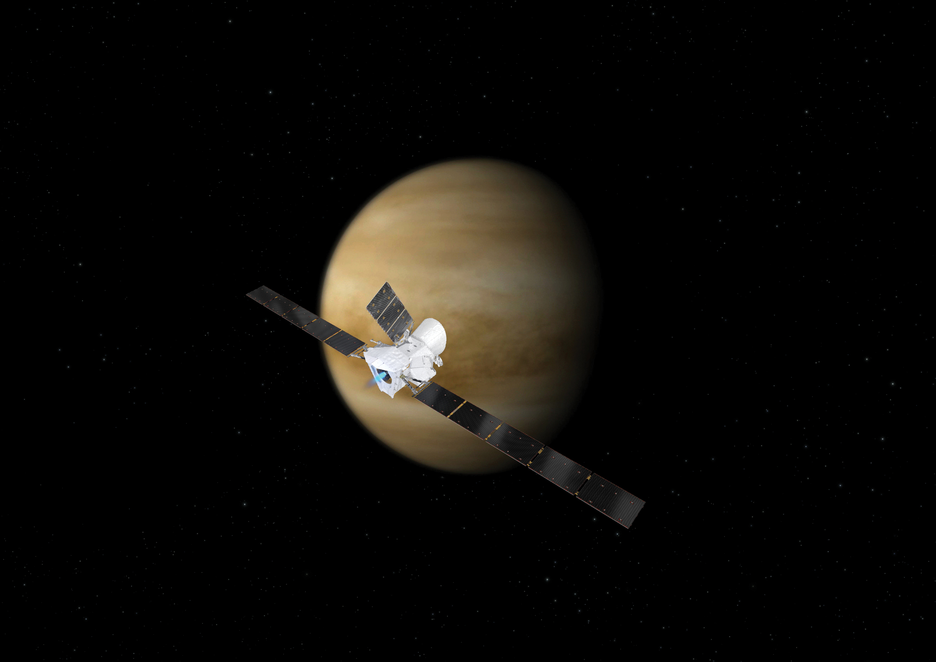 BepiColombo sorvola Venere
