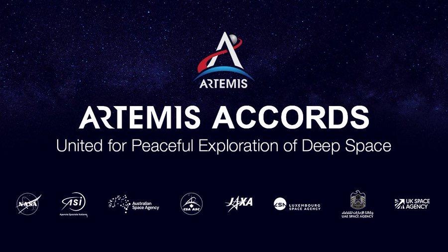 ARTEMIS, SIGLATO IL PRIMO ACCORDO MULTILATERALE DI COOPERAZIONE INTERNAZIONALE