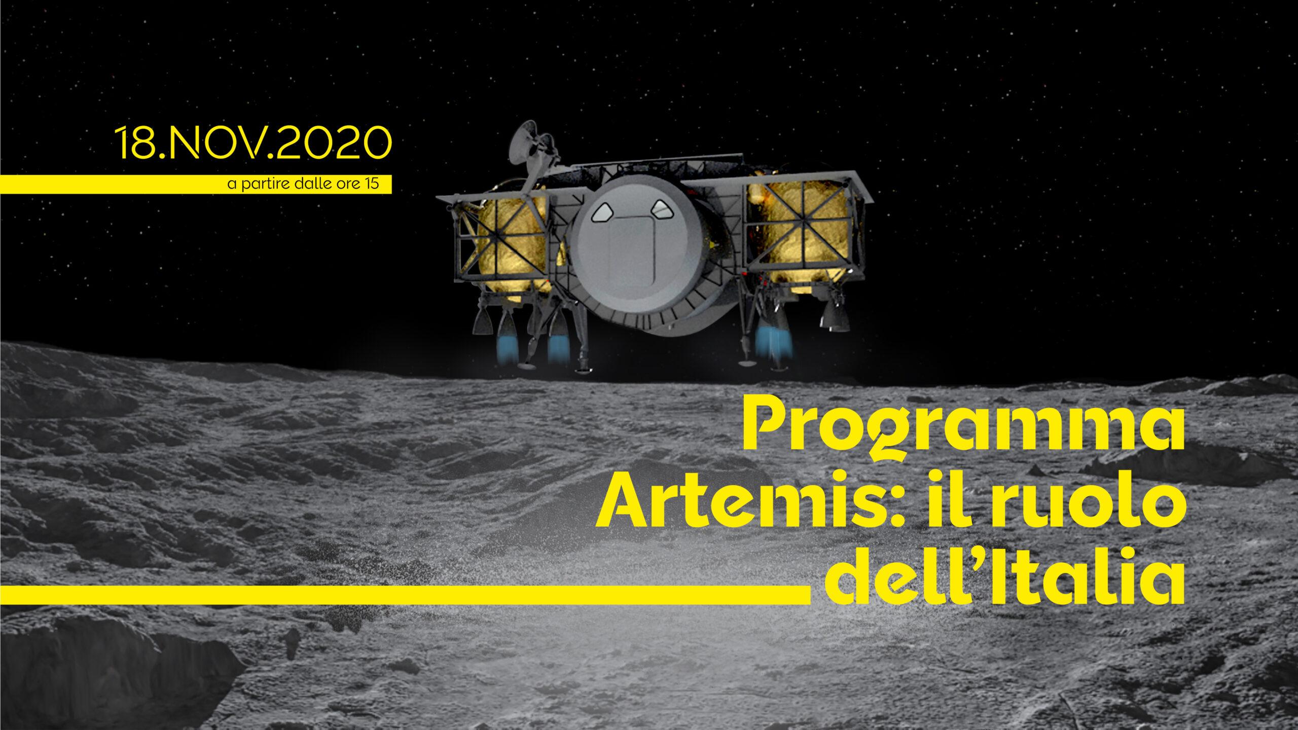ASI - Artemis: il ruolo dell'Italia