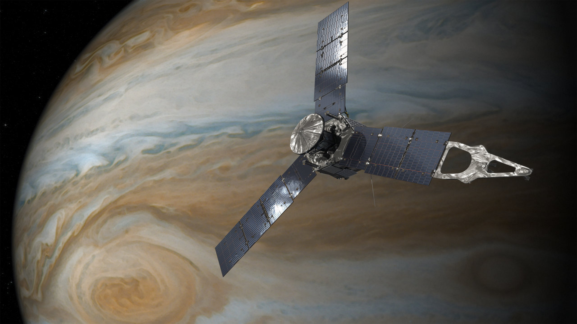 ASI - Juno, missione estesa fino al 2025