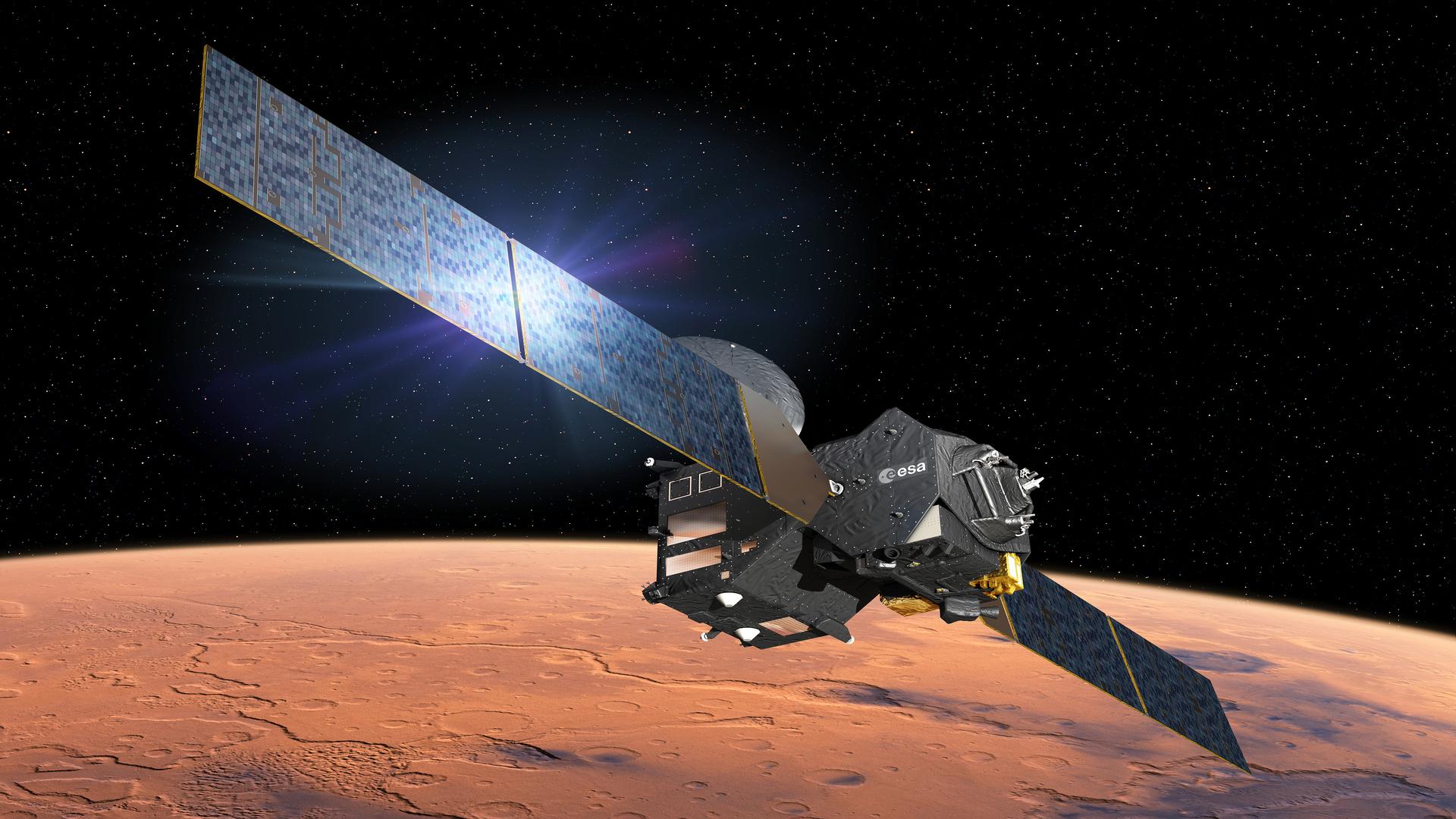 ASI - L'acqua in fuga da Marte testimonia i cambiamenti climatici del pianeta