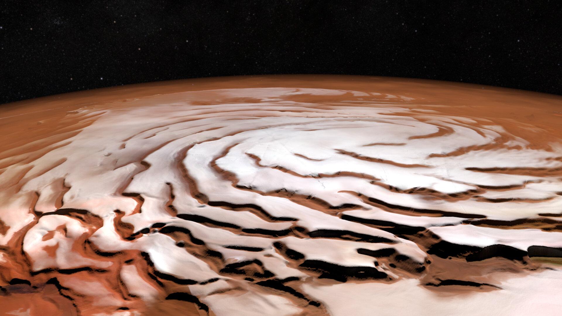 ASI - Mars Ice Mapper, siglata la dichiarazione d'intenti con ASI