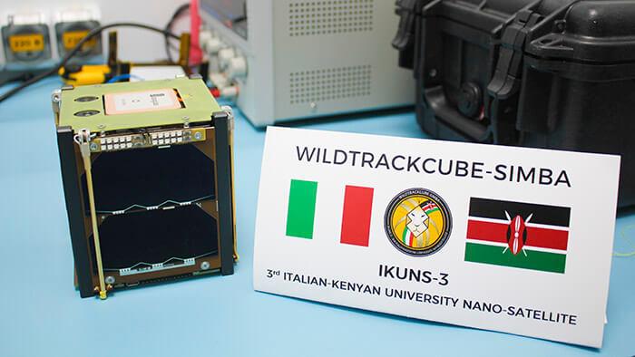 ASI - Il satellite WildTrackCube-SIMBA è pronto al lancio