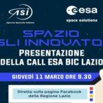 Call ESA Bic Lazio 2021