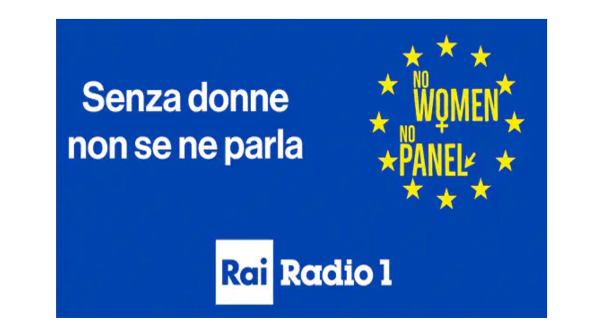 ASI - No women, no panel- evento di presentazione della campagna europea