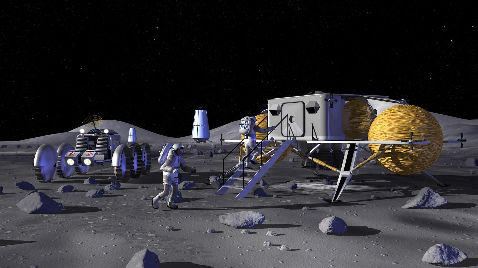 ASI - ASI-Thales, sedici idee per la Luna