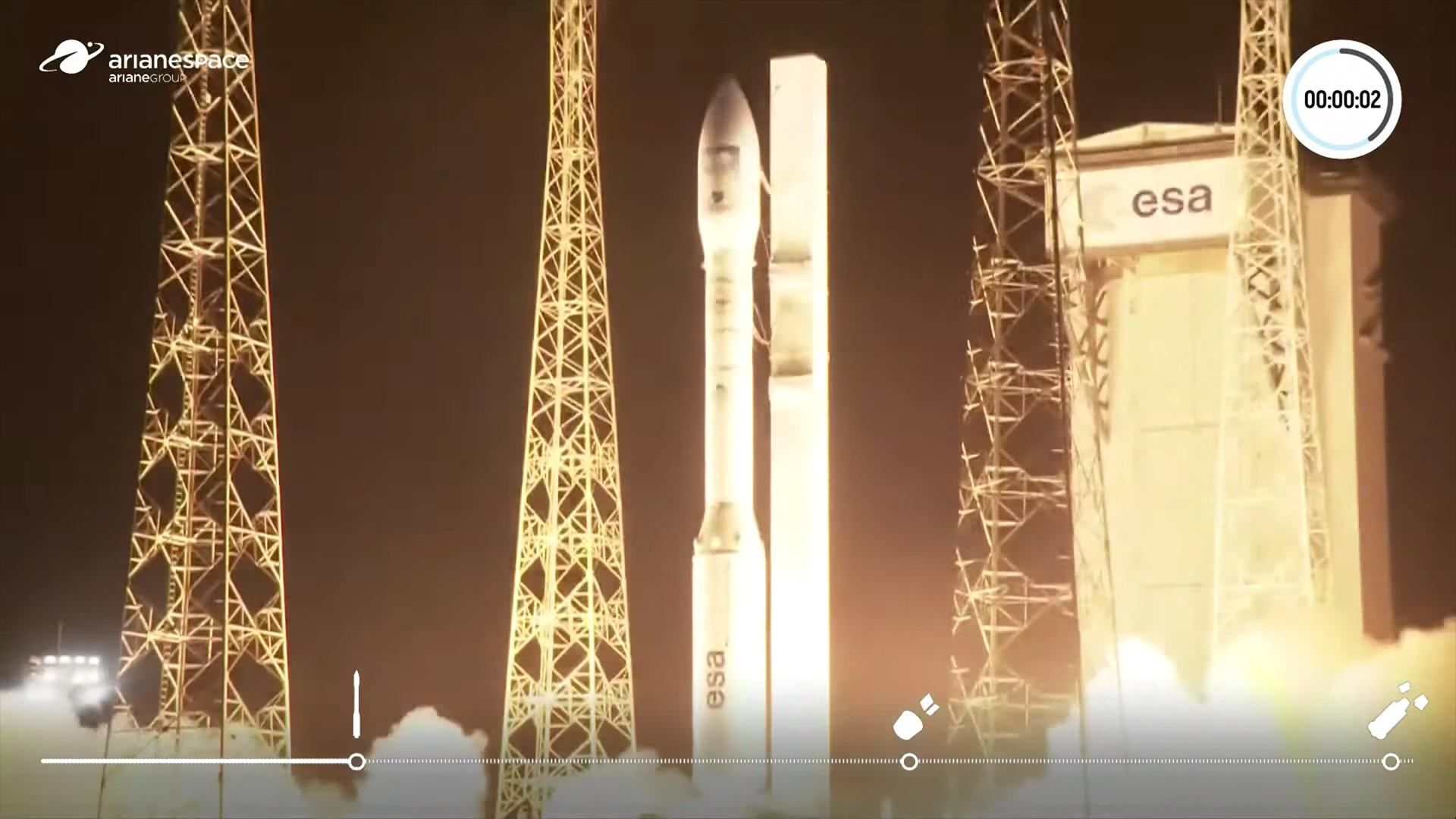 ASI - Missione compiuta: torna al successo il lanciatore europeo Vega