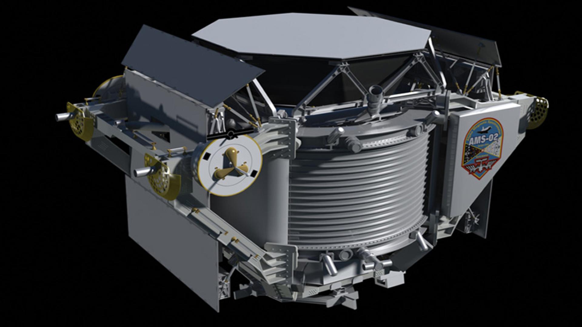 ASI - 10 candeline per AMS-02 rivelatore di particelle cosmiche