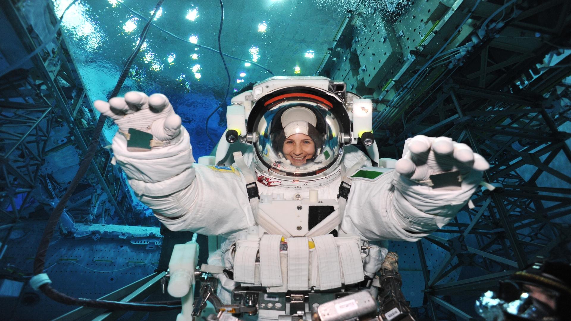 ASI - Samantha Cristoforetti sarà comandante della Expedition 68