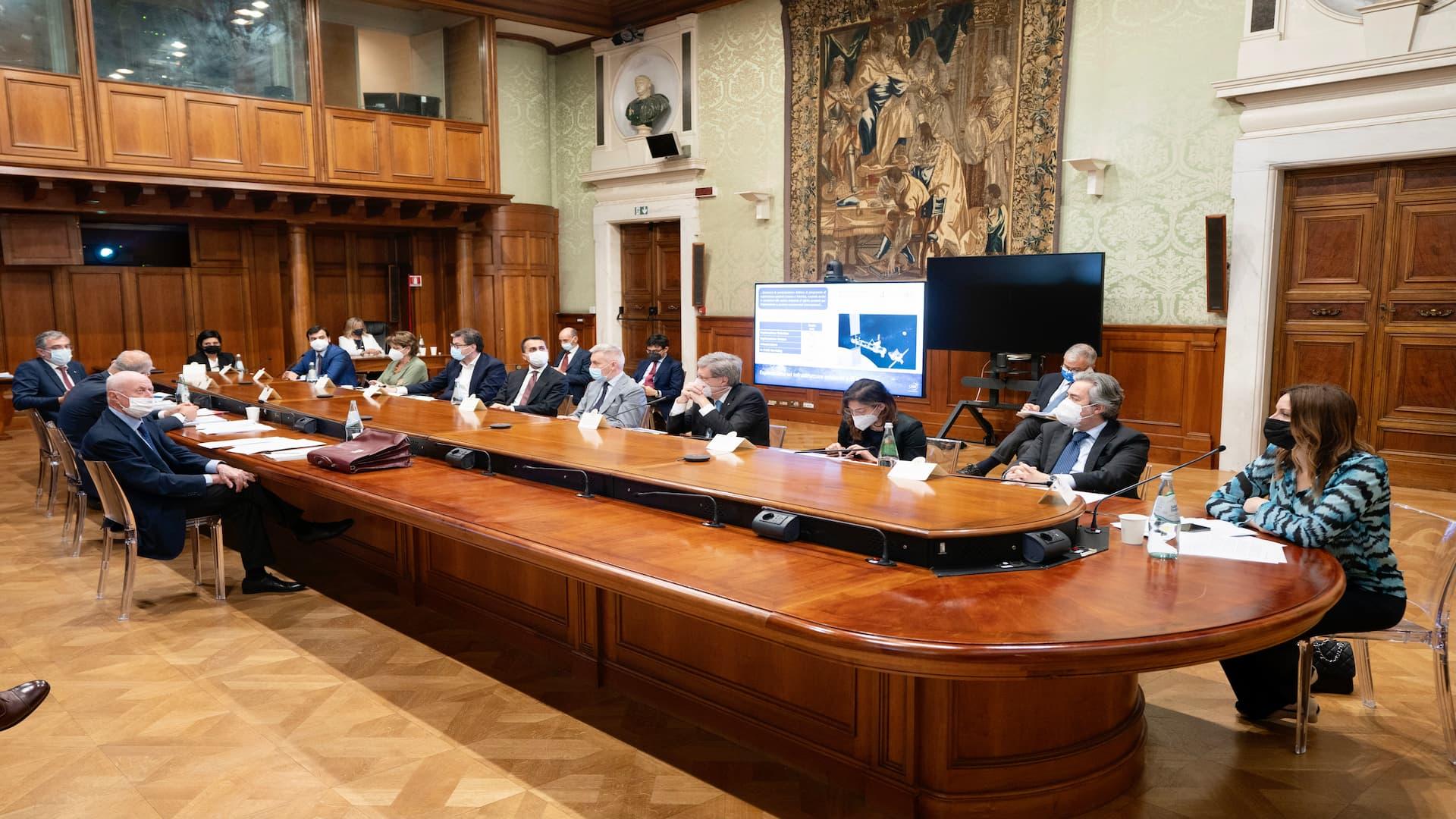 ASI - COMINT, la tredicesima seduta oggi a Palazzo Chigi