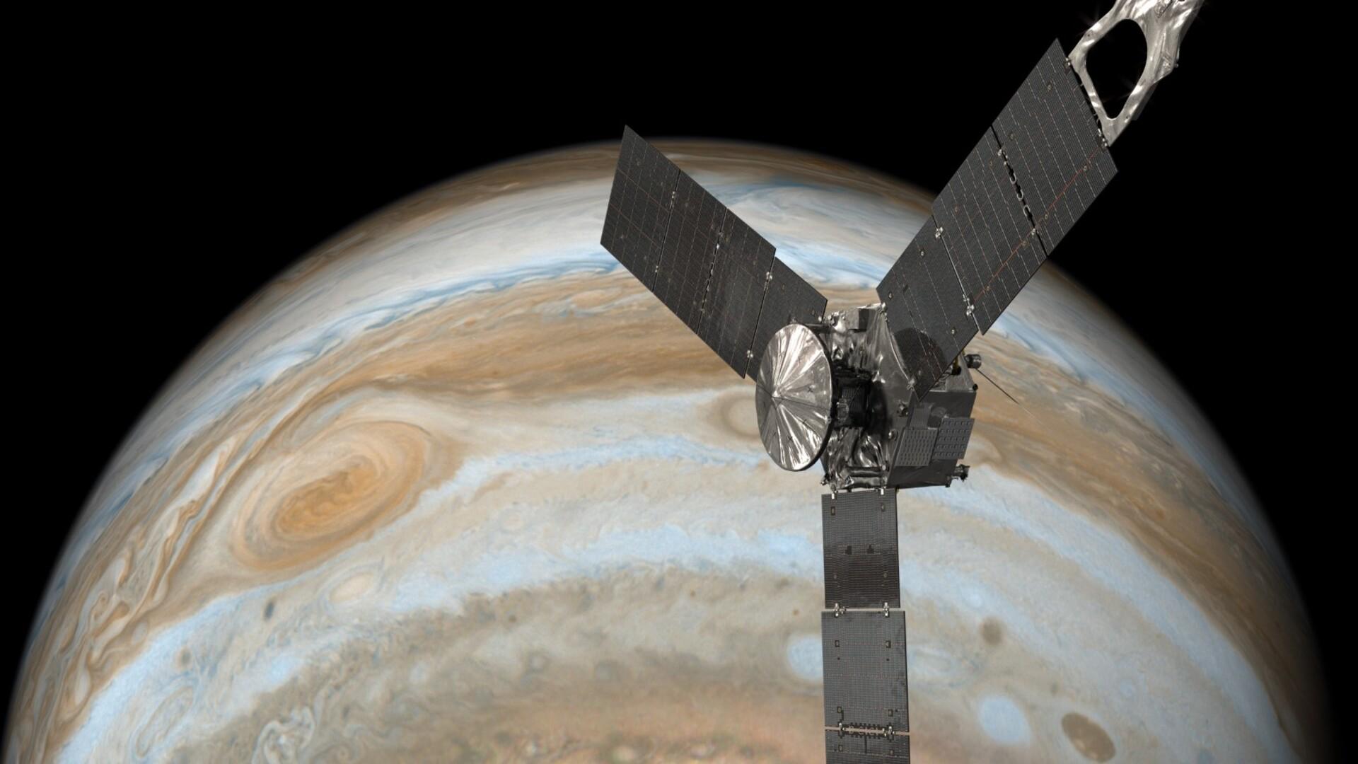 ASI - Juno: incontri ravvicinati con Ganimede