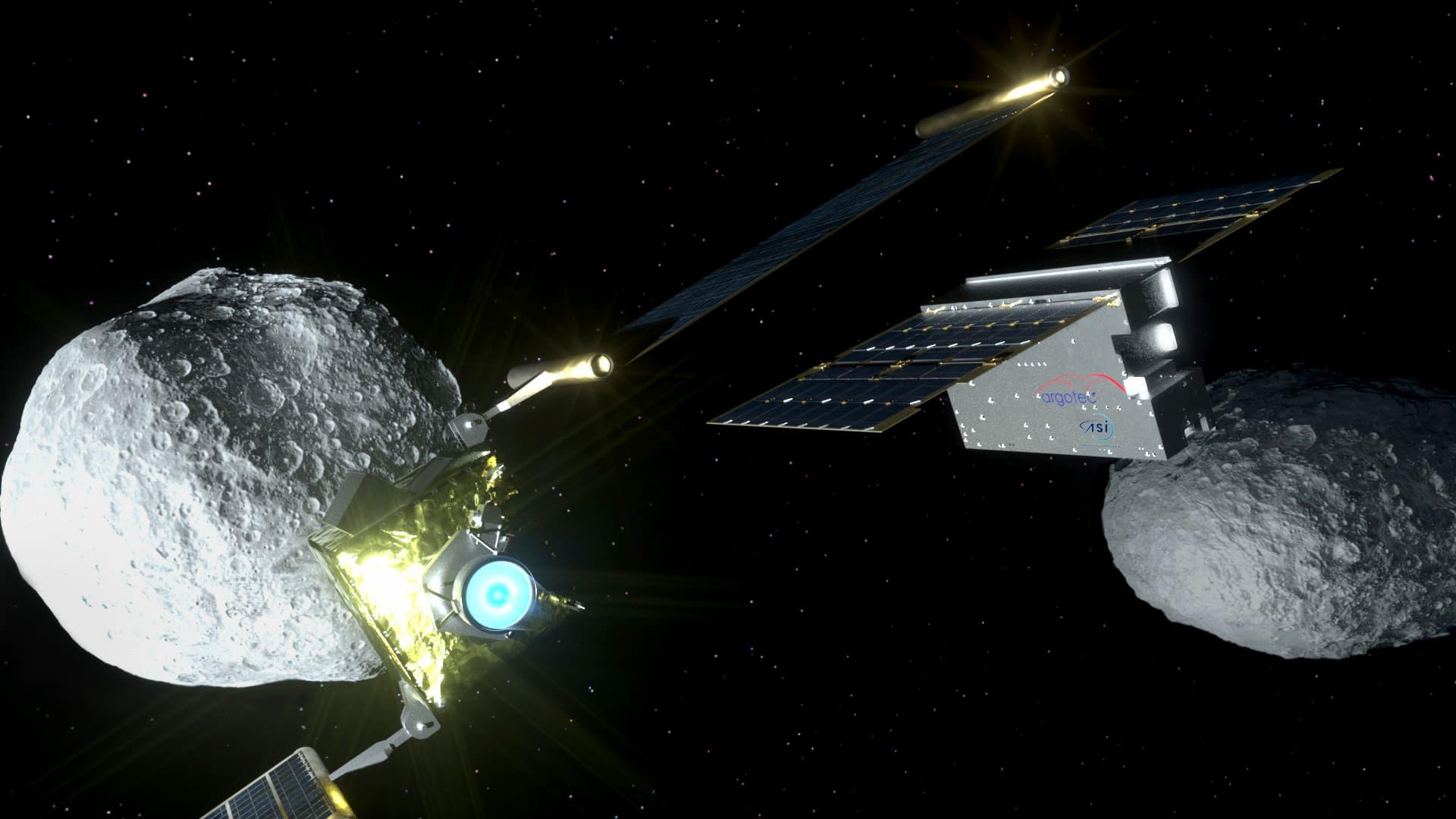ASI - LICIACube è pronto per la prima missione di difesa planetaria