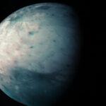 JIRAM osserva l'emisfero sud di Ganimede