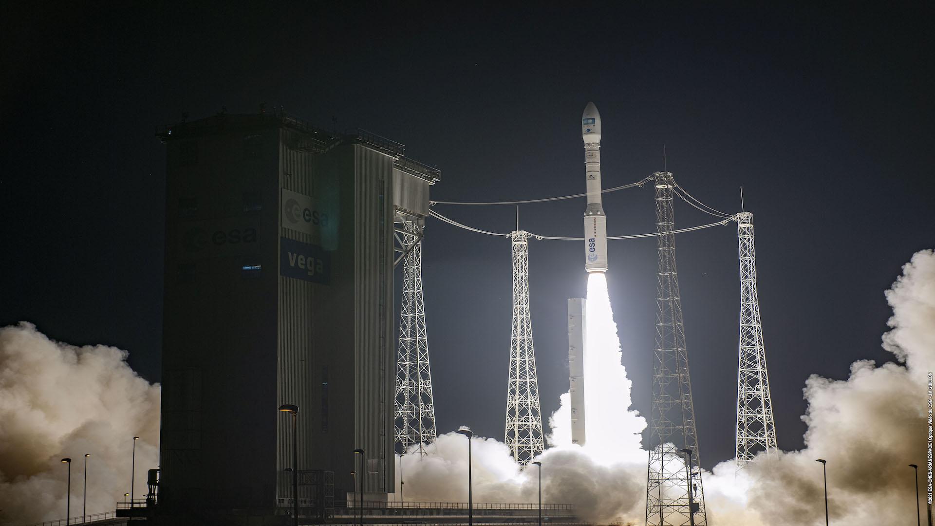 ASI - LEDSAT in orbita