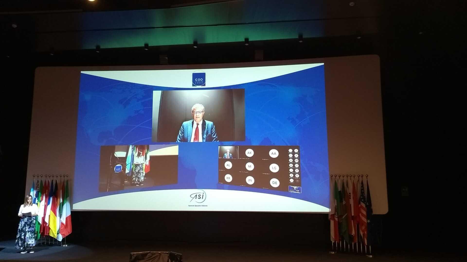 ASI - G20 Space Economy Leaders Meeting, conclusa la sessione dedicata alle industrie