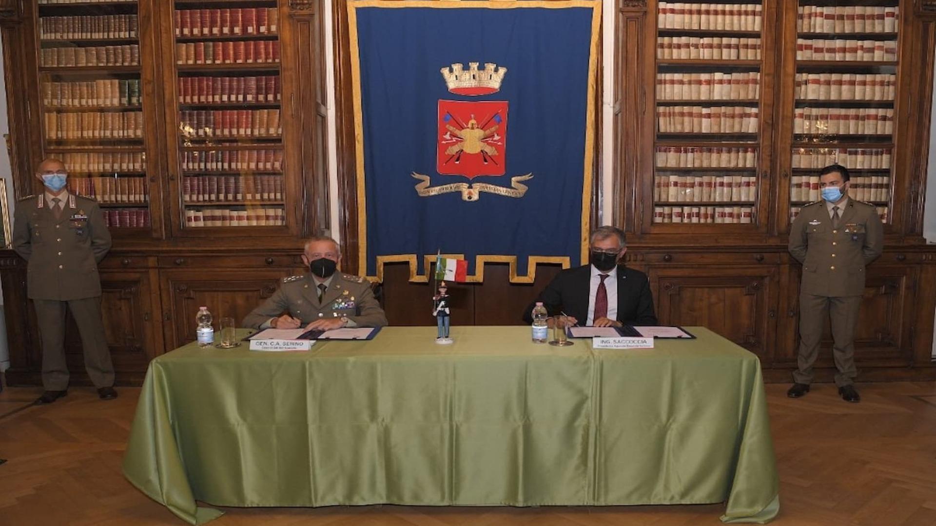 ASI - Firmato l'Accordo esecutivo tra Esercito e Agenzia Spaziale Italiana